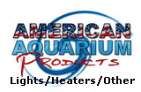 Aquarium Lights, fixtures, heaters, plant substrate, CO2 Generators, tubing, filter media