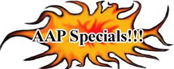 American Aquarium Products Specials