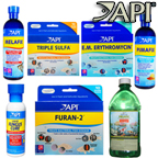 Tetra hikari aquarium treatments prazipro potassium for Methylene blue for fish