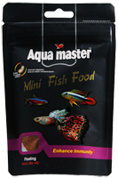 Aqua Master Conditioning Mini Tropical Fish Food-Enhance Immunity