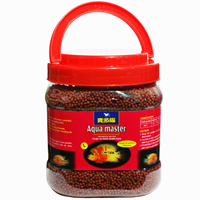 Tropical, cichlid fish food pellets