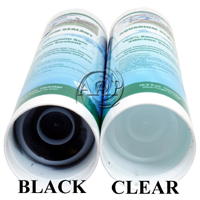 Aquarium Silicone, Black and Clear, Fish Safe, bottom view