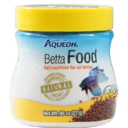 Aqueon Betta Food pellets .95 ounces