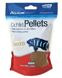 Aqueon Cichlid Food Pellets