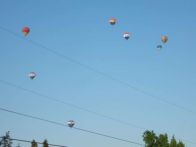 Balloons over Grants Pass Oregon, Balloon Fest 2007