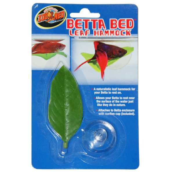 warning zoo med betta bed leaf hammock