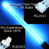 Twin tube compact UV Replacement Bulbs