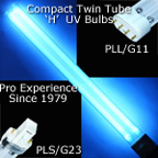 Compact UV Bulbs for UVC sterilization