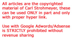 Copyright, Google Adsense, Adwords banned from use without permission