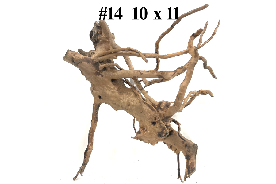 Mopani Driftwood African Aquarium Decoration 7 For Sale