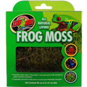 Frog Moss, For Terrariums, Aquariums as a Natural Acid Buffer for Soft Water Preferring Fish
