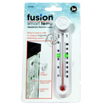 Fusion magnetic aquarium thermometers