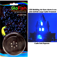 GloFish Blue LED Bubbler