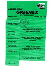 AAP Aquatronics Greenex, saltwater fish Cryptocaryon Ich and parasite treatment