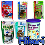 Hikari foods compliment Spirulina Fish Food Flake