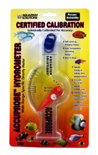 Aquarium Test Kits, Hydrometer for specific gravity