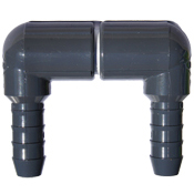 Aquarium water intake adapter, plumbing part