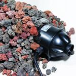 Pond Internal UV Clarifier Pump Filter with Volcanic Rock Pre-Filter
