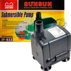 SunSun JP-033 Submersible Aquarium Fountain  Water Pump, AquaTop NP-302