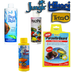 Jungle Labs Products, treatments, water conditioners