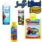 Jungle, Tetra Aquarium Treatments
