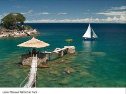 Lake Malawi, home of many popular & beautiful aquarium Cichlid fish
