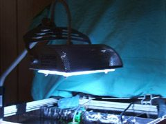 Aquarium Lighting, Metal Halide lamp and fixture
