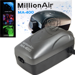 Million Air 400 pump, economy aquarium airpumps