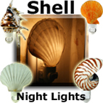 SHELL NIGHT LIGHTS