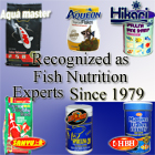 Aquarium and Pond Fish Food Nutrition Experts, Rain One, Brine Shrimp, Blood Worms