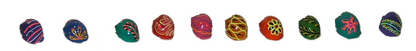 Painted Snail Shell, Hermit Crab Home set
