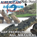 AAP Custom Premium Fish Food Crumbles by Clay Neighbors