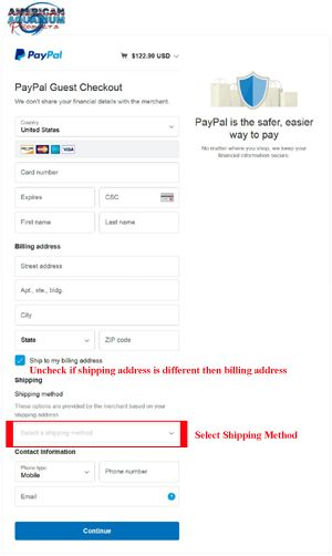 PayPal Screen Shot