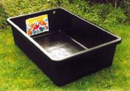 Plastic tub pond