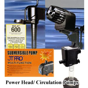 Aquarium Power Head, Water and Circulation Pump