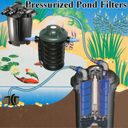 Pressurized pond filter with uv sunsun clear stream for Combined pond pump and uv filter