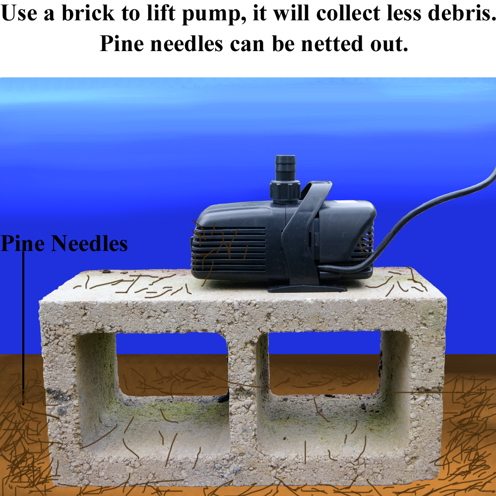 Springs make get diy windmill aeration systems for Garden pond do you need a pump