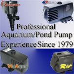 Professional Aquarium and Pond Pump Experience, Via Aqua 8000, Heavy Duty Amphibious pumps