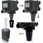 Rio 600 used as power head for sponge filter