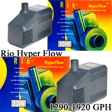 Rio HF Hyper Flow Aquarium, Pond Water Pumps