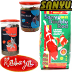 Sanyu Goldfish, Koi and Tropical Fish Foods