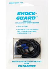 Shock Guard aquarium titanium grounding device
