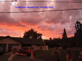 Sky over Grants Pass, September 2007