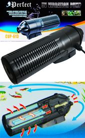 Submersible UV Sterilizer Pump, Filter