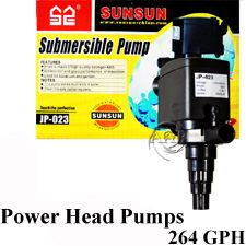 AquaTop Power Head, ReSun King 1A and 2A Aquarium, Fountain, Pond Water Pump
