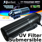 Submersible Internal UV Sterilizer, Clarifier for Aquarium or Pond