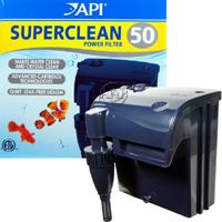 API Superclean aquarium power filter with surface skimmer