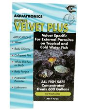 Acriflavin in aquarium fish treatment, super velvet