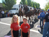Grants  Pass Boatnik 2008, Danielle, Timothy, Clydesdales