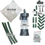 Aquarium Fluidized Sand Bed Filter Fittings and Parts